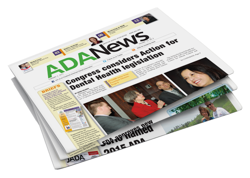 Three ADA News editions stacked